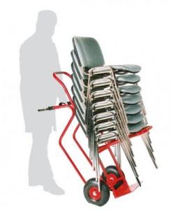 Diable pour manutention chaises empilables - Devis sur Techni-Contact.com - 2