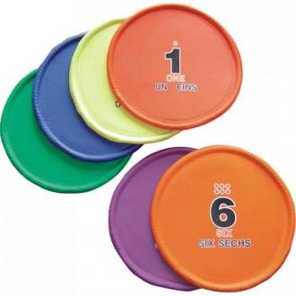 Disque numéroté pour lancer d'athlétisme - Devis sur Techni-Contact.com - 1