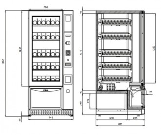 Distributeur automatique boissons fraîches - Devis sur Techni-Contact.com - 2