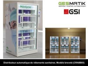 Distributeur automatique d'équipements pour hôpitaux - Devis sur Techni-Contact.com - 11