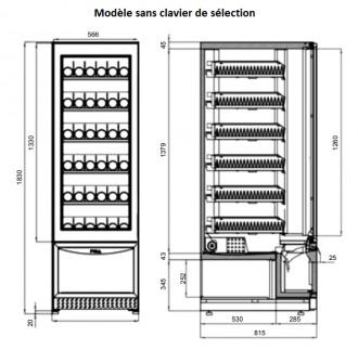 Distributeur automatique de boisson fraîche - Devis sur Techni-Contact.com - 6