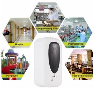 Distributeur automatique de gel Hydroalcoolique à capteur infrarouge - Devis sur Techni-Contact.com - 5