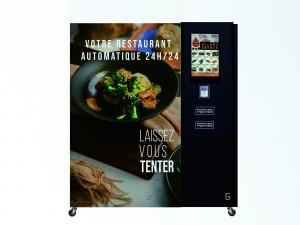 Distributeur automatique de plats cuisinés frais et chauds 24/24 - Devis sur Techni-Contact.com - 1