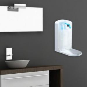 Distributeur de savon mural à capteur infrarouge - Devis sur Techni-Contact.com - 1
