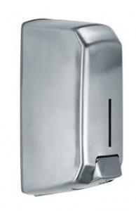 Distributeur poussoir savon INOX 1L - Devis sur Techni-Contact.com - 1