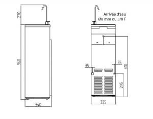 Distributeur d'eau froide - Devis sur Techni-Contact.com - 2