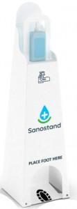 Distributeur de gel hydroalcoolique pliable - Devis sur Techni-Contact.com - 1