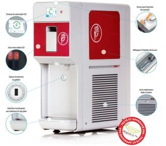 Distributeur de glace et softs - Devis sur Techni-Contact.com - 1