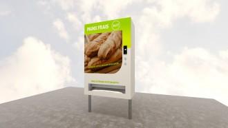 Distributeur automatique de pain - Devis sur Techni-Contact.com - 1