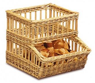Distributeur de petits pains en osier - Devis sur Techni-Contact.com - 1