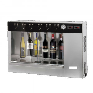 Distributeur de vin au verre pour 4, 6 ou 12 bouteilles - Devis sur Techni-Contact.com - 1