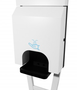 Distributeur Gel Hydroalcoolique a écran de diffusion - Devis sur Techni-Contact.com - 3