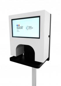 Distributeur Gel Hydroalcoolique automatique - Devis sur Techni-Contact.com - 3