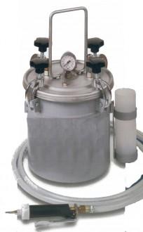 Distributeur pneumatique en acier inoxydable pour colle polyuréthane. - Devis sur Techni-Contact.com - 1