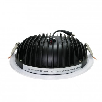 Downlight LED COB Pro - Devis sur Techni-Contact.com - 2