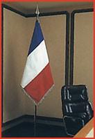 Drapeau de bureau pour mairie - Devis sur Techni-Contact.com - 1