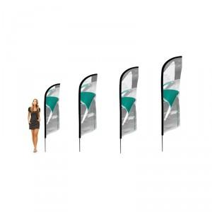 Drapeau voile personnalisable - Devis sur Techni-Contact.com - 2