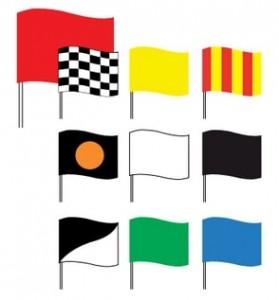 Drapeaux de courses automobiles - Devis sur Techni-Contact.com - 1