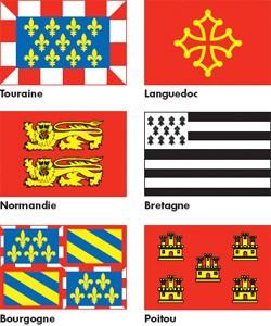 Drapeaux des provinces françaises - Devis sur Techni-Contact.com - 1