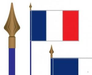 Drapeaux sur hampe France - Devis sur Techni-Contact.com - 2