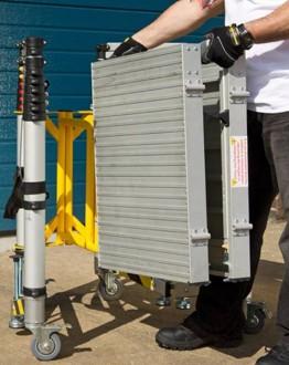 Échafaudage télescopique roulant - Devis sur Techni-Contact.com - 2