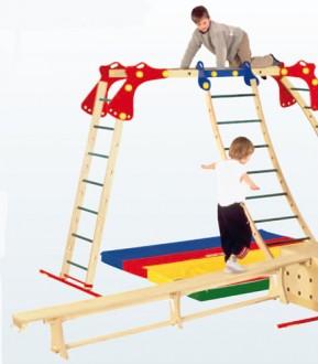 Echelle bois pour baby gym - Devis sur Techni-Contact.com - 2