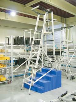 Echelle escabeau transportable - Devis sur Techni-Contact.com - 3