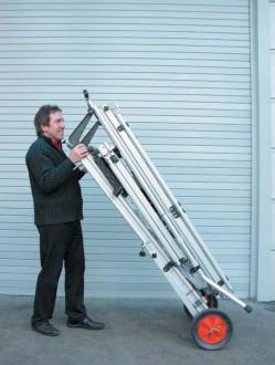 Echelle escabeau transportable - Devis sur Techni-Contact.com - 5