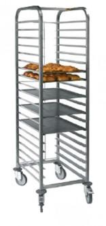 Echelle pâtisserie avec barre d'arrêt - Devis sur Techni-Contact.com - 1