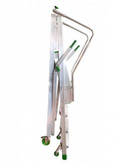 Echelle roulante repliable 150 Kg - Devis sur Techni-Contact.com - 2