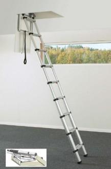Echelle télescopique pour toit - Devis sur Techni-Contact.com - 1
