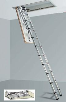 Echelle télescopique pour toit - Devis sur Techni-Contact.com - 2