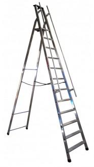 Echelles escabeaux professionnel en aluminium - Devis sur Techni-Contact.com - 2
