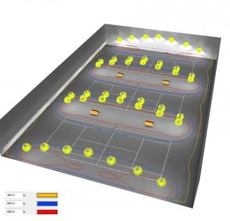 Eclairage Led court de Tennis - Devis sur Techni-Contact.com - 4