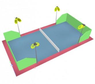 Eclairage Led padel de tennis - Devis sur Techni-Contact.com - 2