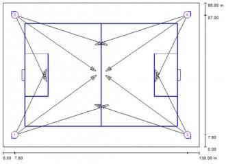 Eclairage Led terrain de Football - Devis sur Techni-Contact.com - 11