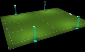 Eclairage Led terrain de Football - Devis sur Techni-Contact.com - 14