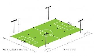 Eclairage Led terrain de Football - Devis sur Techni-Contact.com - 5