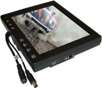 Ecran 8 Tactile, VGA, 12 et 220V - Devis sur Techni-Contact.com - 1