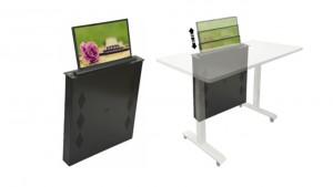 Ecran escamotable automatique pour table - Devis sur Techni-Contact.com - 2