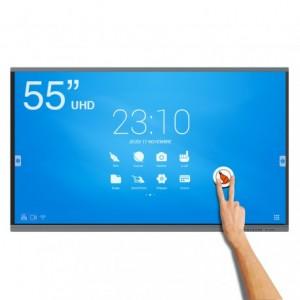 Ecran interactif tactile Android UHD 55'' - Devis sur Techni-Contact.com - 1