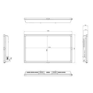 Ecran professionnel très haute luminosité 55´´ - Devis sur Techni-Contact.com - 3