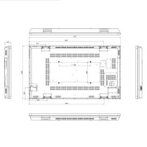 Ecran professionnel très haute luminosité 55´´ - Devis sur Techni-Contact.com - 4