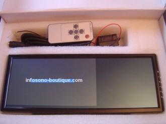 Ecran rétroviseur TFT LCD 18cm/ 7 pouces - Devis sur Techni-Contact.com - 1