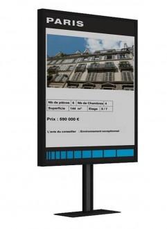 Ecran vitrine - Devis sur Techni-Contact.com - 2