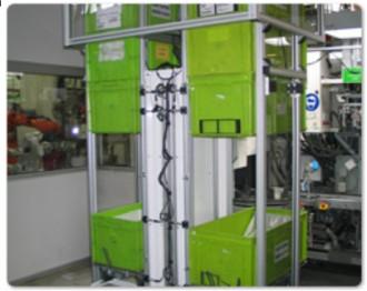 Empileur dépileur de bacs 200 kg par côté - Devis sur Techni-Contact.com - 1