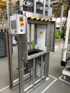 Empileur dépileur de bacs 200 kg par côté - Devis sur Techni-Contact.com - 10