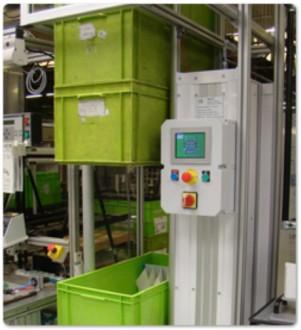 Empileur dépileur de bacs 200 kg par côté - Devis sur Techni-Contact.com - 2