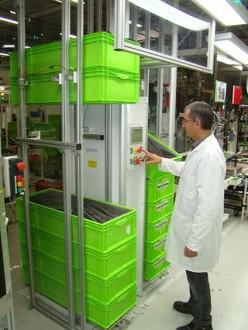 Empileur dépileur de bacs 200 kg par côté - Devis sur Techni-Contact.com - 3