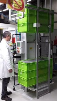 Empileur dépileur de bacs 200 kg par côté - Devis sur Techni-Contact.com - 4